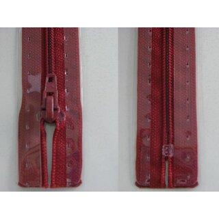 RV geschlossen/ 4 mm Kunststoffspirale/ 22 cm/ kirschrot