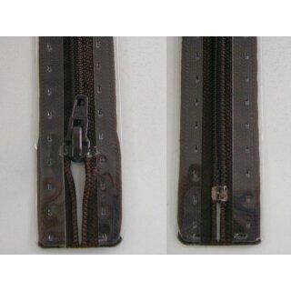 RV geschlossen/ 4 mm Kunststoffspirale/ 15 cm/ dunkelbraun