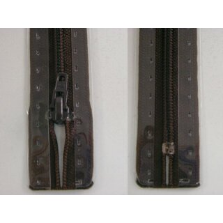 RV geschlossen/ 4 mm Kunststoffspirale/ 18 cm/ dunkelbraun