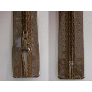 RV geschlossen/ 4 mm Kunststoffspirale/ 15 cm/ braun