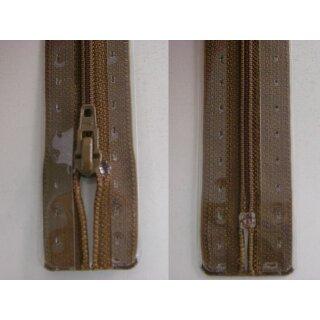 RV geschlossen/ 4 mm Kunststoffspirale/ 20 cm/ braun