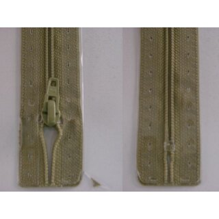 RV geschlossen/ 4 mm Kunststoffspirale/ 15 cm/ graugrün