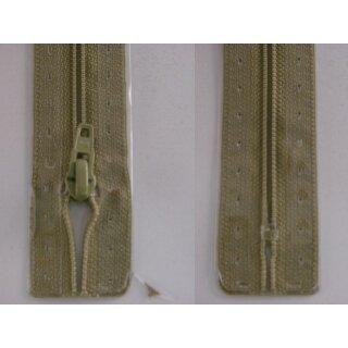 RV geschlossen/ 4 mm Kunststoffspirale/ 20 cm/ graugrün