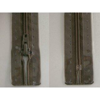 RV geschlossen/ 4 mm Kunststoffspirale/ 12 cm/ graubraun
