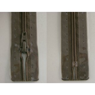 RV geschlossen/ 4 mm Kunststoffspirale/ 20 cm/ graubraun