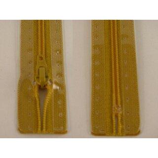 RV geschlossen/ 4 mm Kunststoffspirale/ 20 cm/ goldgelb