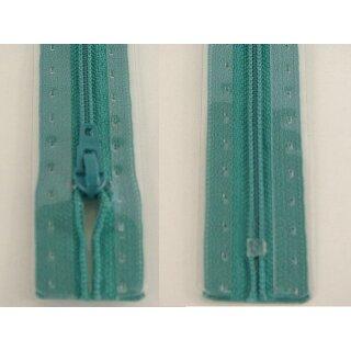 RV geschlossen/ 4 mm Kunststoffspirale/ 15 cm/ blaugrün