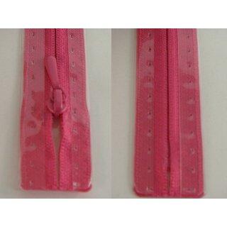 RV geschlossen/ 4 mm nahtfein Kunststoffspirale/ 60 cm/ leuchtend pink