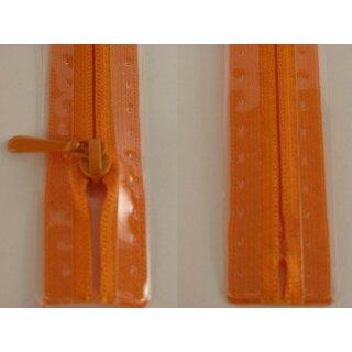 RV geschlossen/ 4 mm nahtfein Kunststoffspirale/ 40 cm/ leuchtend orange