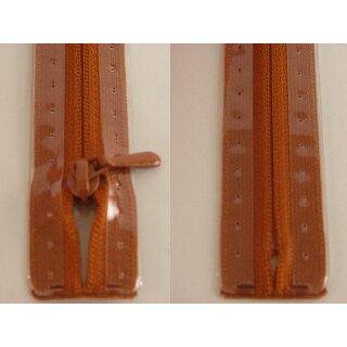 RV geschlossen/ 4 mm nahtfein Kunststoffspirale/ 40 cm/ etruskisch rot