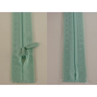RV geschlossen/ 4 mm nahtfein Kunststoffspirale/ 30 cm/ mint