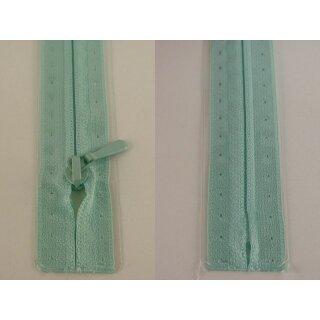 RV geschlossen/ 4 mm nahtfein Kunststoffspirale/ 60 cm/ mint
