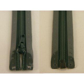 RV teilbar/ 5 mm Kunststoffspirale/ 75 cm / dunkelgrün
