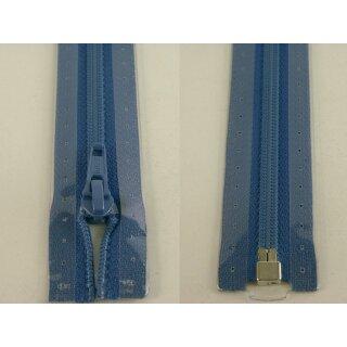 RV teilbar/ 5 mm Kunststoffspirale/ 75 cm / blau