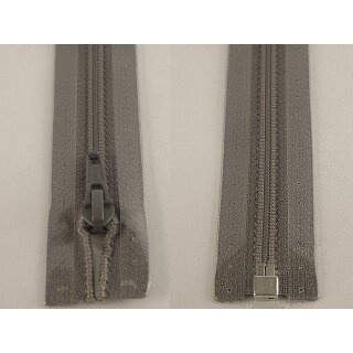 RV teilbar/ 5 mm Kunststoffspirale/ 65 cm / grau