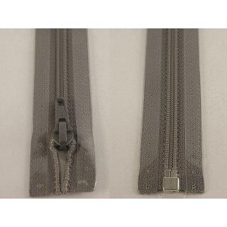 RV teilbar/ 5 mm Kunststoffspirale/ 80 cm/ grau