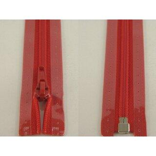 RV teilbar/ 5 mm Kunststoffspirale/ 80 cm/ rot