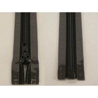 RV teilbar/ 5 mm Kunststoffspirale/ 65 cm/ schwarz