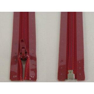 RV teilbar/ 5 mm Kunststoffspirale/ 80 cm/ dunkelrot