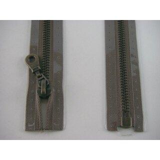 RV teilbar/ 6 mm Metall - Profil altmessing/ 45 cm/ braun