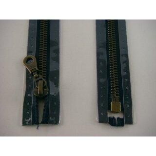 RV teilbar/ 6 mm Metall - Profil altmessing/ 80 cm/ schwarz