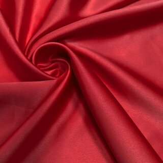 Stretch Satin - Stoff rot