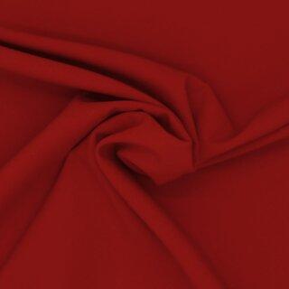 Stretch - Stoff uni rot