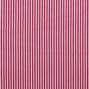 Baumwoll - Stoff Streifen rot