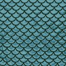 Faschings - Folie Fischschuppen groß