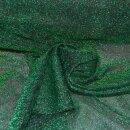 Lurexjersey grün