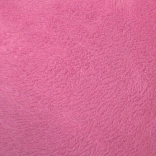 Fleece uni pink