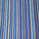 Markisen - Stoff Streifen Blautöne