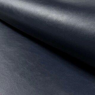 Nappa-Leder-Imitat dunkelblau