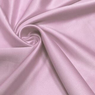 Stretch Satin - Stoff rosa