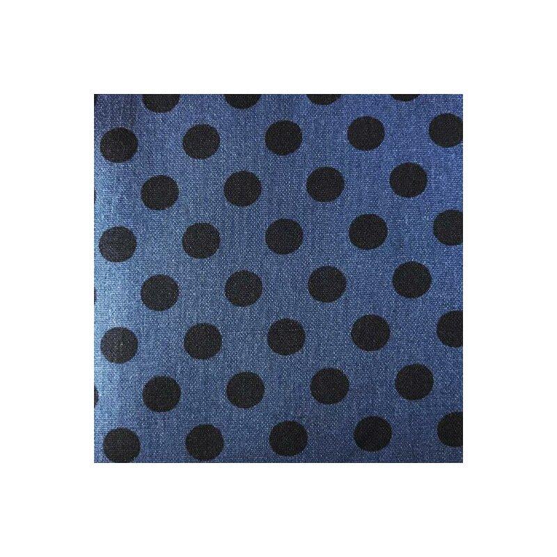Stoff-Meterware Hellblau Batist-Karo