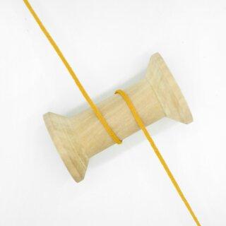 Gummikordel 3 mm ockergelb