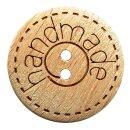 Kinderknopf Holz Handmade natur