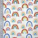 Kinderjersey Rainbow Crossing weiß