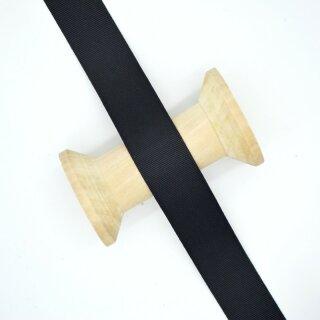 Ripsband/ schwarz 40 mm
