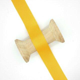 Ripsband/ gelb 40 mm