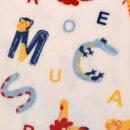 Plüschfleece Tierbuchstaben