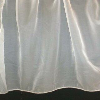 Store - Stoff uni 300cm weiß