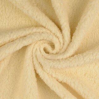 Baumwollteddy - Stoff creme