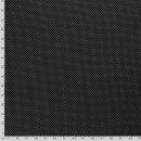 Baumwoll - Stoff Punkte klein schwarz