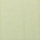 Baumwoll - Stoff Karo midi hellgrün