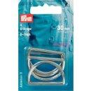 D-Ringe/ silber/ 30 mm