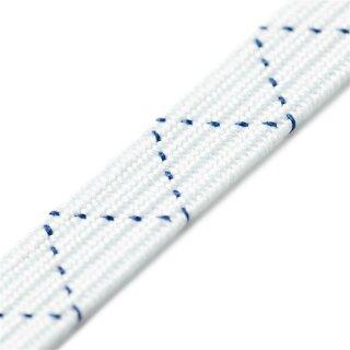 Sport-Elastik/ weiß/ 8,5 mm