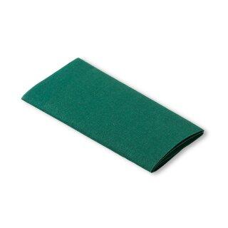 Flickstoff Baumwolle/ grün/ 45 x 12 cm
