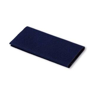 Flickstoff Köper/ blau/ 45 x 12 cm