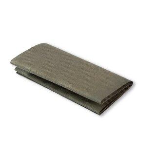 Flickstoff Köper/ olive/ 45 x 12 cm